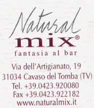 Natural Mix - Prodotti da bar a base di frutta - Cavaso del Tomba (TV)